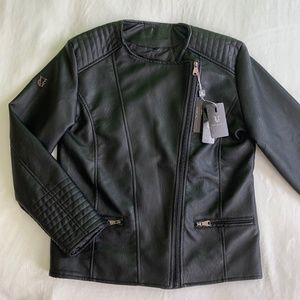 VG World Collection Women's  LEATHER JACKET